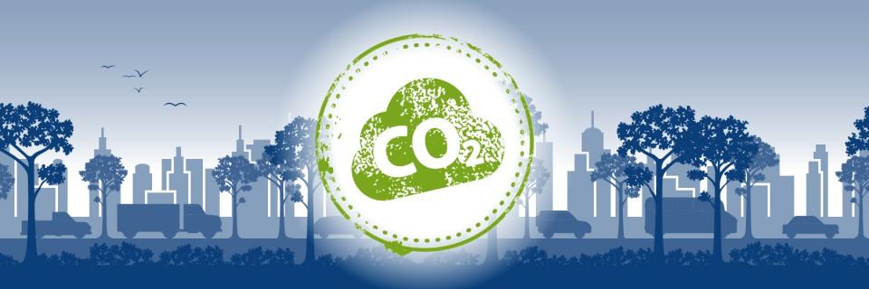 Umweltstadt CO2 Grafik