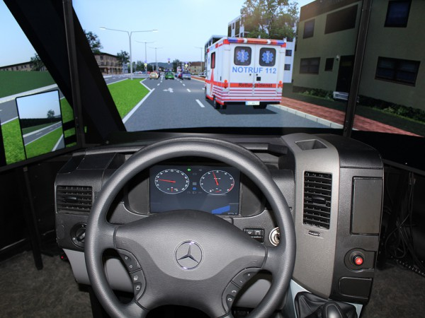 Cockpit Midsize Simulator