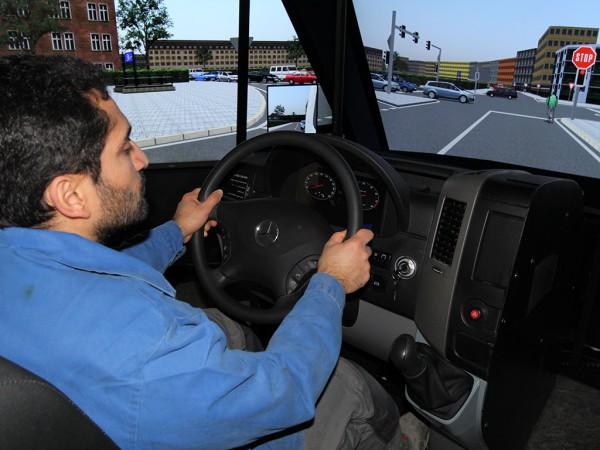 Fahrer Midsize Simulator