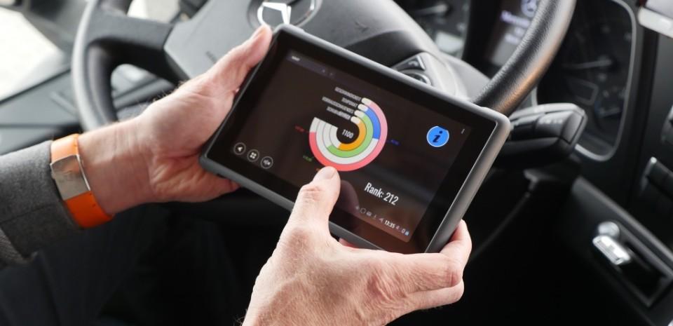 Fahrer Tablet